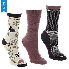 Smartwool Women's Trio 3 3-Pack Crew Socks