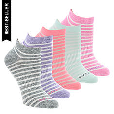 Skechers Women's S108410 Low-Cut 5-Pack Socks
