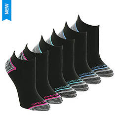 8cd385d03e01 Skechers Women s S111387 Low Cut 6 Pack Socks
