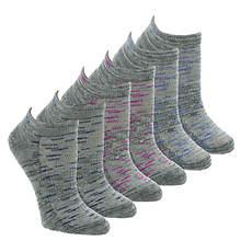 Skechers Women's S108232 Low Cut 6 Pack Socks