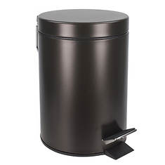 3-Liter Steel Step Waste Bin