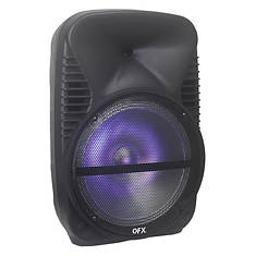 QFX 12'' Portable Speaker with Bluetooth