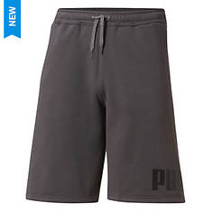 PUMA Men's Big Fleece Logo Short 10
