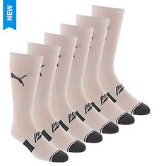 PUMA Men's P113583 Crew 6 Pack Socks