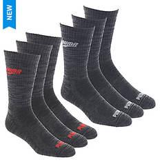 PUMA Men's P113582 Crew 6 Pack Socks