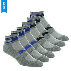 PUMA Men's P113581 Quarter 6 Pack Socks