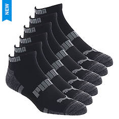 PUMA Men's P112481 Low Cut 6 Pack Socks