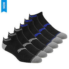 PUMA Men's P113427 Low Cut 6 Pack Socks