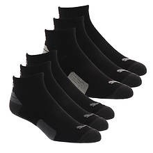 PUMA Men's P113434 Quarter 6 Pack Socks