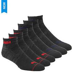 PUMA Men's P113432 Quarter 6 Pack Socks
