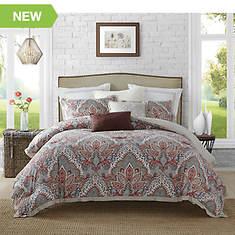 Ellen Tracy Upton Park 5-Piece Reversible Comforter Set