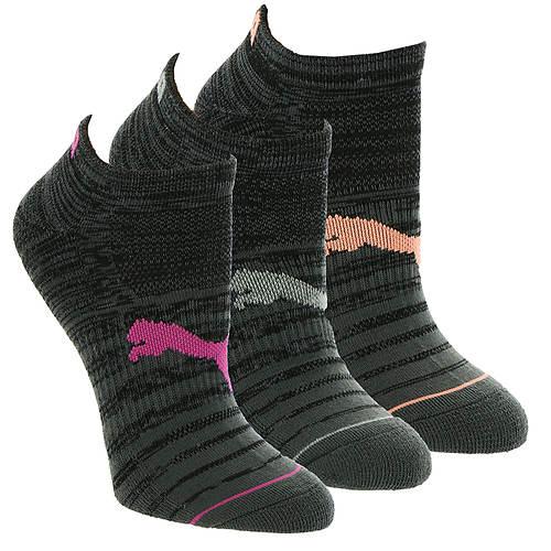 PUMA Women's P113575 Low-Cut 6-Pack Socks