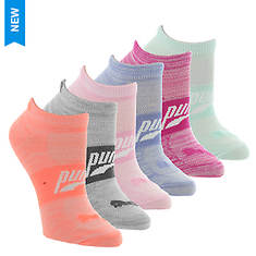PUMA Women's P113573 Low-Cut 6-Pack Socks