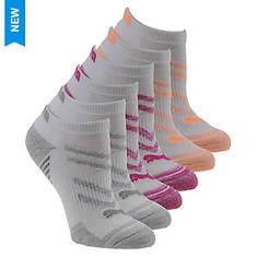 PUMA Women's P113577 Low Cut 6 Pack Socks