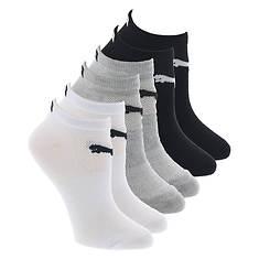 PUMA Women's P112108 Low-Cut 6-Pack Socks