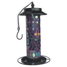 Sun-Ray Mosaic Solar Bird Feeder