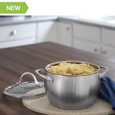 Heavy-Gauge Stainless Steel Cookware -- 4-Quart Casserole
