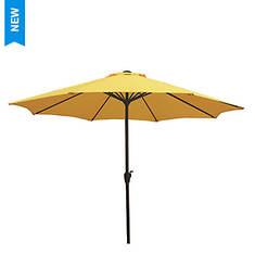 9' Rib Crank Market Umbrella