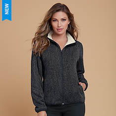 Heathered Full-Zip Jacket