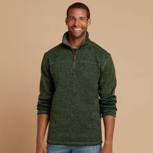 Men's Heathered 1/4-Zip Jacket