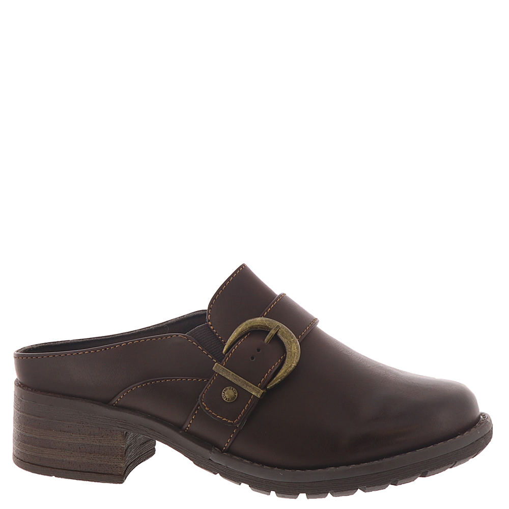 70s Shoes, Platforms, Boots, Heels | 1970s Shoes Eastland Erin Womens Brown Slip On 7 W $69.95 AT vintagedancer.com