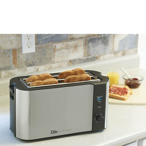 Elite Premium Long-Slot 4-Slice Toaster