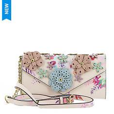 Nine West 3D Floral Mini Wallet On A String