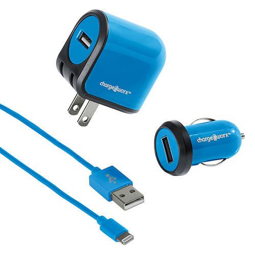 ChargeWorx iPhone Lightning Charging Kit
