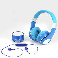 Magnavox 3-in-1 Bluetooth Headphone Set