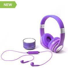 Magnavox 3-in-1 Bluetooth Headphone Set