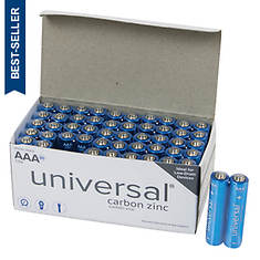 50-Pack AAA Battery Value Box