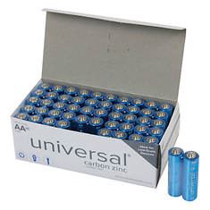 50-Pack AA Battery Value Box