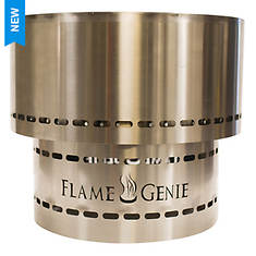 Flame Genie Inferno Wood Pellet Stainless Steel Fire Pit