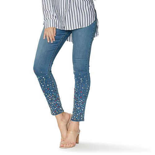 Multi-Colored Bling Jean