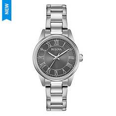 Bulova Bracelet Watch with Round Grey Dial