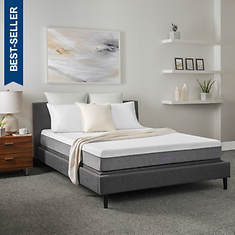 Solace Sleep 8'' Gel-Infused Memory Foam Mattress