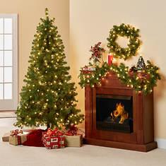 3-Piece Lighted Holiday Decor Set