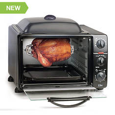 Elite Toaster Oven with Grill/Griddle Top