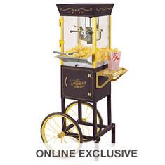 Nostalgia Electrics Vintage Professional Popcorn Cart