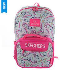 Skechers Twinkle Toes Girls' Harmony Combo Unicorn Power Backpack