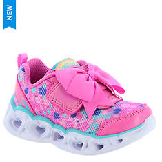 Skechers Heart Lights-Sparkle Sparks 20265N (Girls' Infant-Toddler)