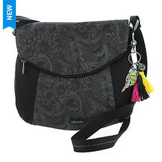 Sakroots Poly Twill Fold Over Crossbody Bag