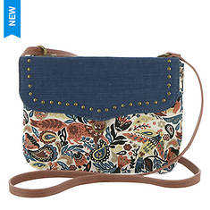 Sakroots Austen Double Gusset Mini Crossbody Bag