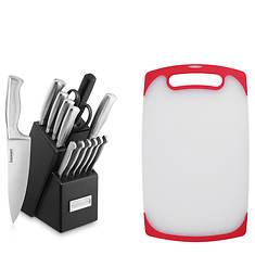 Cuisinart Stainless Steel Hollow Handle 15-Piece Cutlery Block Set