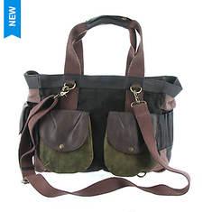 Free People Distressed Tote Bag