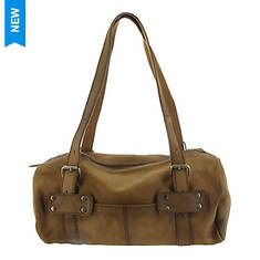 Free People Leather Duffle Bag