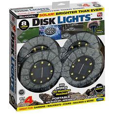 Bell + Howell 4-Pack Solar Disk Lights
