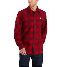 Carhartt Men's Hubbard Flannel Long Sleeve Shirt