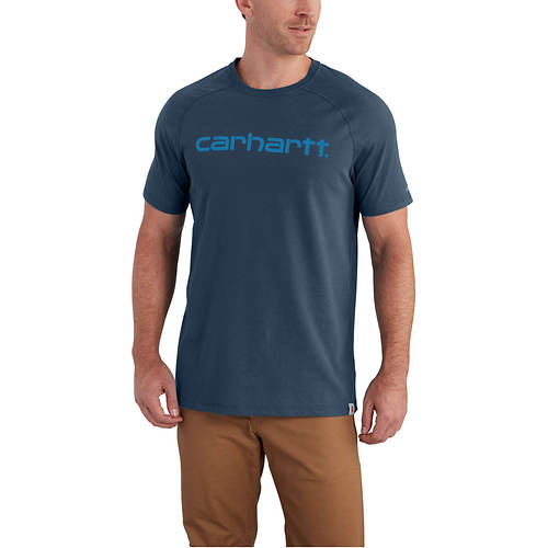 Carhartt Men's Force Delmont Graphic Short Sleeve T-Shirt