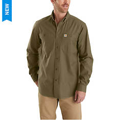 Carhartt Men's Rugged Flex Rigby Long Sleeve Work Shirt